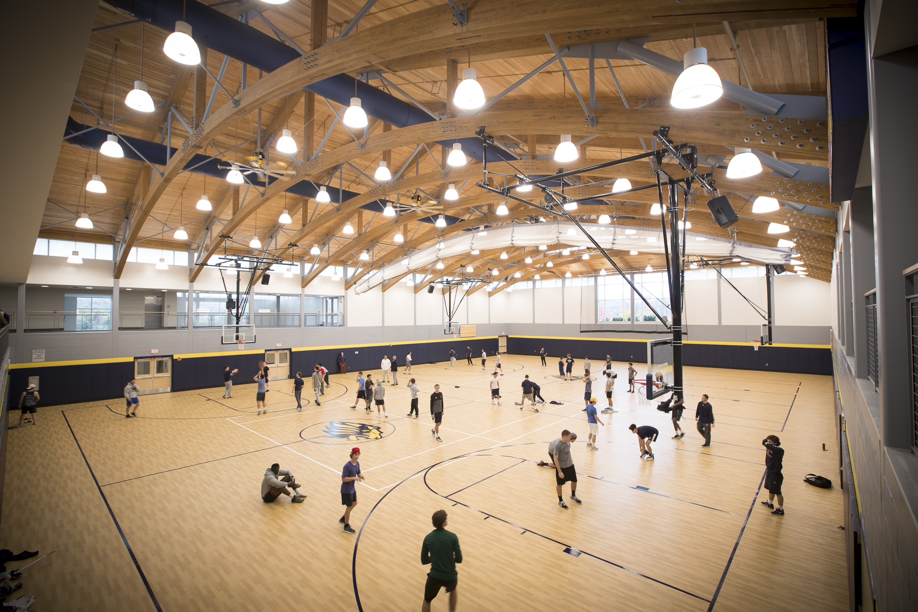 One Of The New Features Of The Smith Field House Includes The Cutting Edge  Software Installed In The Fields And Courts: Playsight Video And Analytics  ...