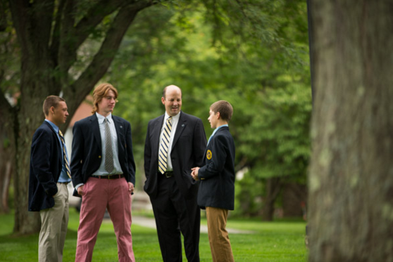 Headmaster Bill Taylor Implements Project-Based Learning